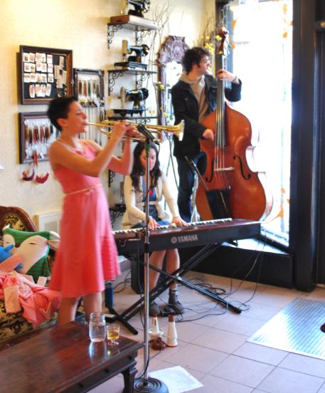 Le groupe Misses Satchmo: pour une ambiance jazzée, sexy et hop la vie!