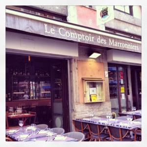 Photo du restaurant Le Comptoir des Marronniers