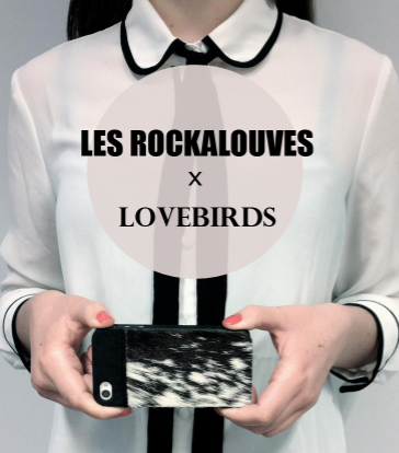 Les rockalouves, lovebirds, iphone, cases, étui,