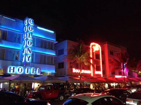 Ocean Drive Miami Party Neon