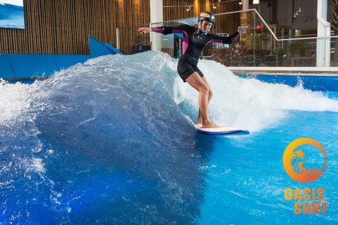Crédit photo : Yann Roy - Lauren McLean Pro Surfer Ron Jon