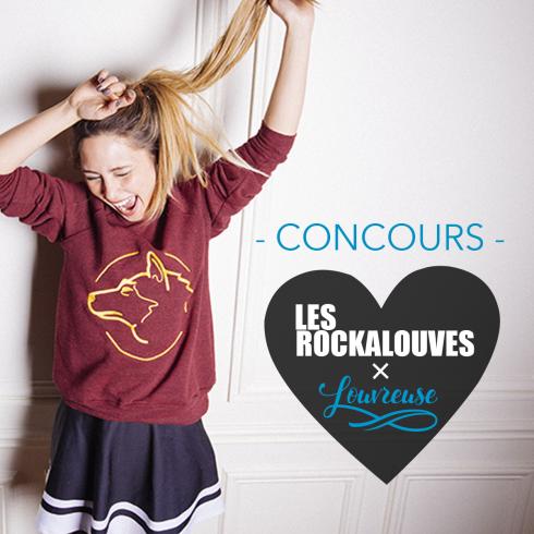 CONCOURS SUR FACEBOOK - Les Rockalouves X Louvreuse