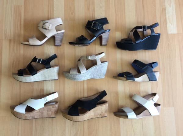 Sélection de chaussures disponible en ce moment chez Pieds Géants Chaussures!