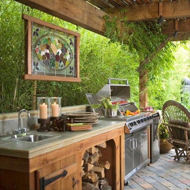 Tout pour votre am nagement ext rieur les rockalouves for Outdoor summer kitchen ideas