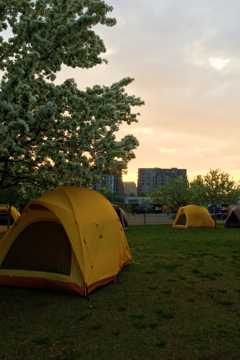 La fois où j'ai fait du camping dans le Vieux-Port de Montréal (oui oui!)