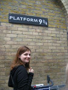 Mon premier stop à Londres, direction Hogwarts!