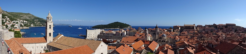 Dubrovnik depuis les remparts