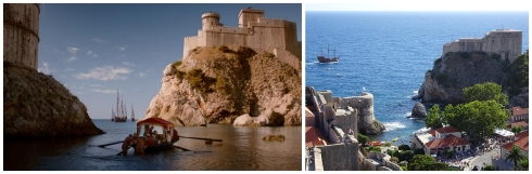 Port de King's Landing / Fort Lovrijenac