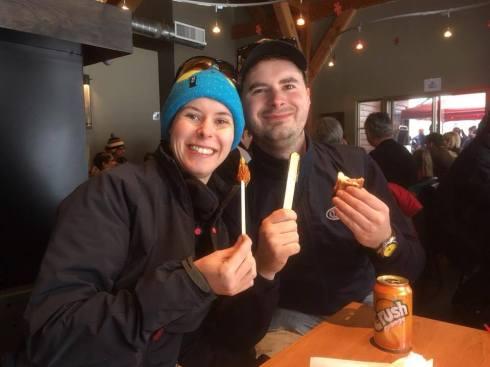 Ski avec Oli
